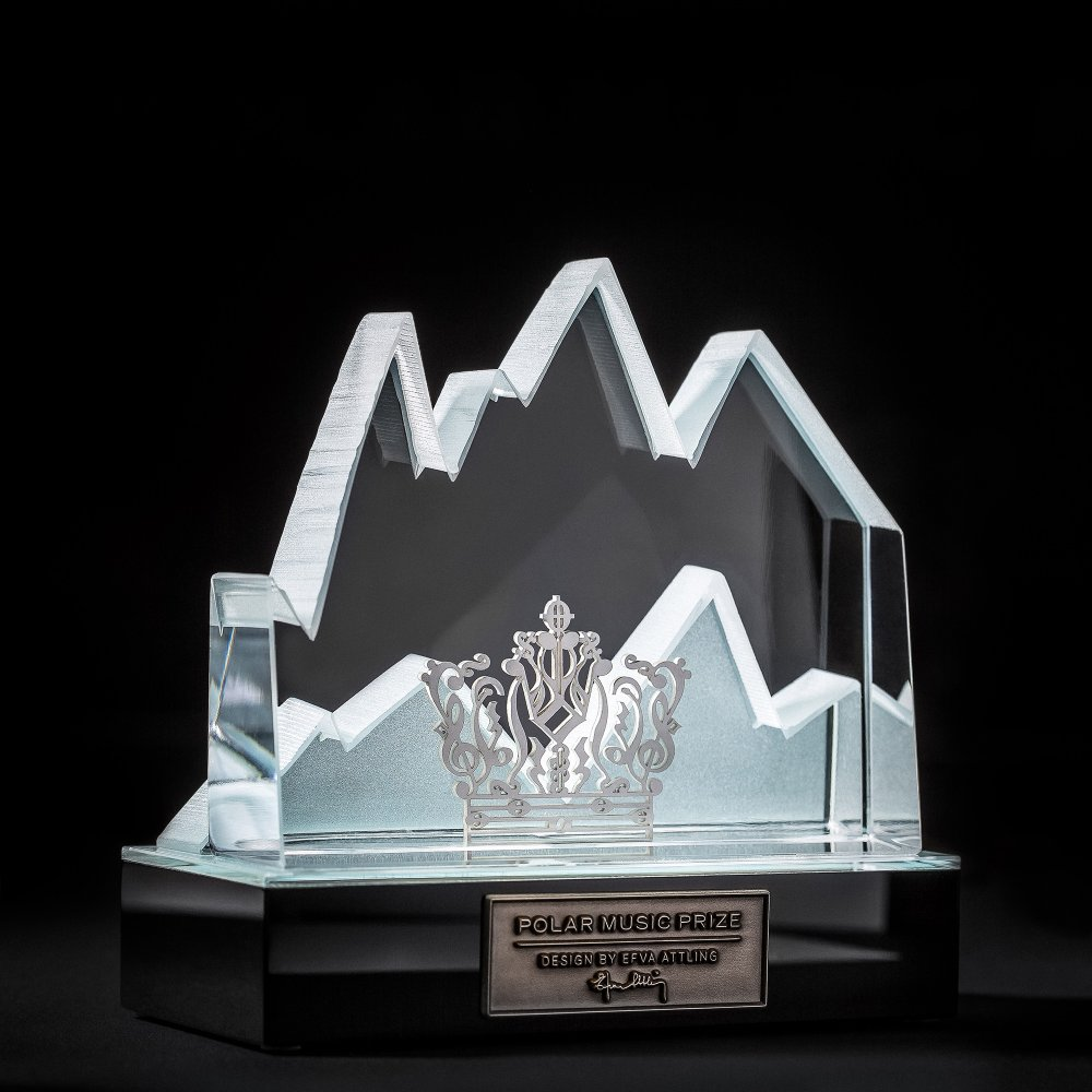 The Polar Music Prize designed by Efva Attling